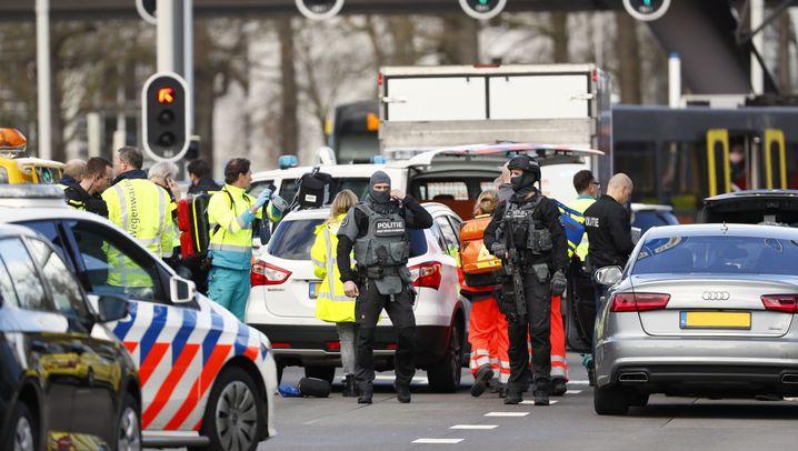 Utrecht: Polizeiermittlungen nach Schüssen in Straßenbahn