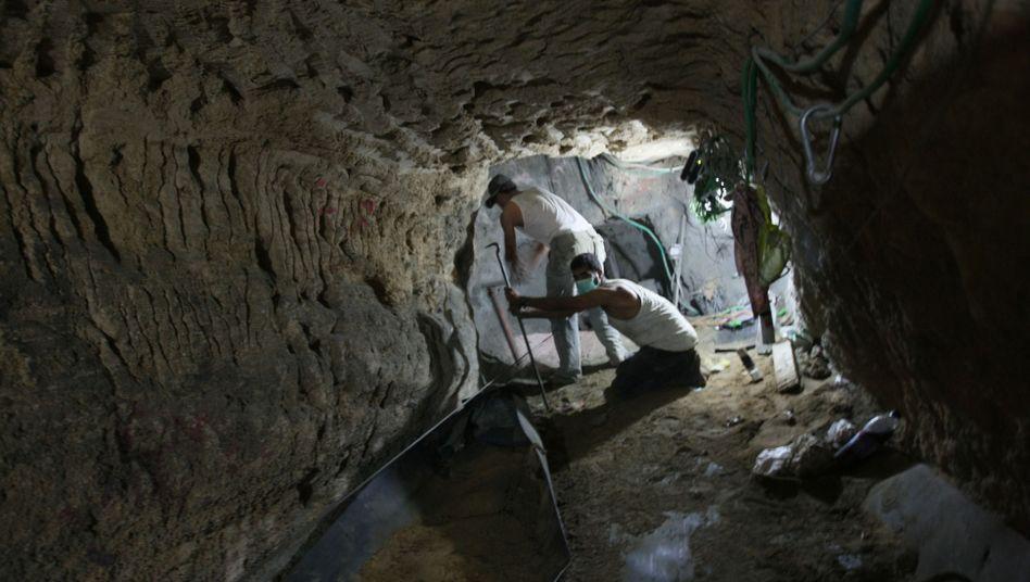 Tunnel an der ägyptischen Grenze: Es kommen keine Waren durch