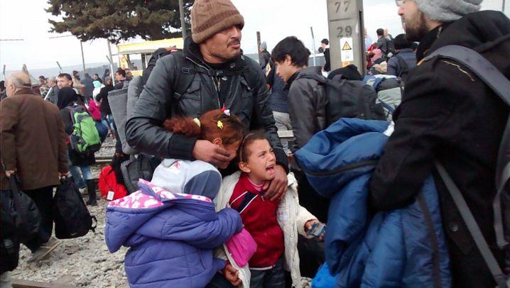 Flüchtlingskrise: Drama an der Grenze