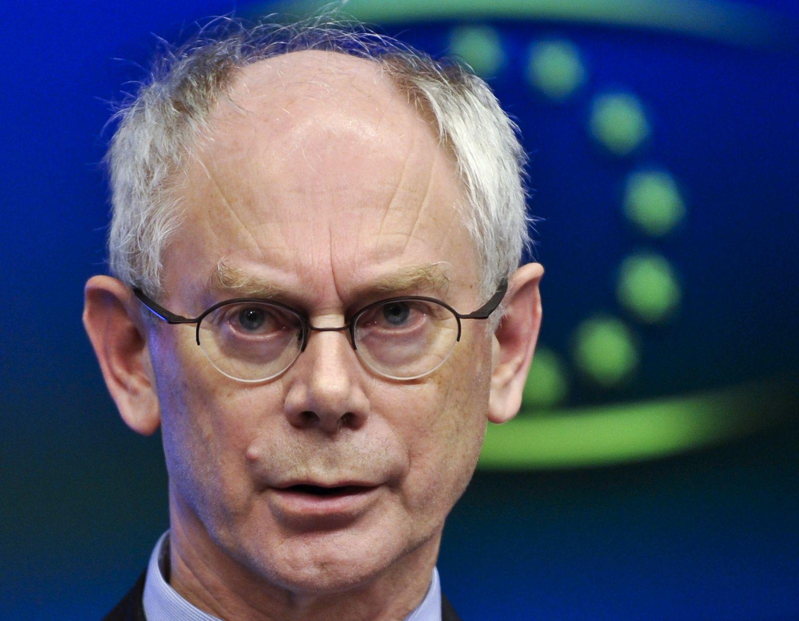 Eu-Gipfel Van Rompuy