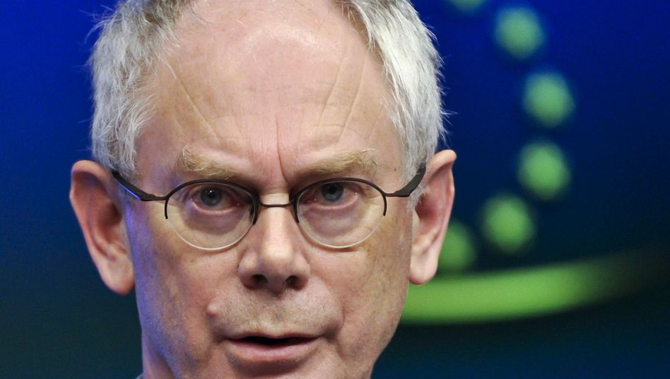 EU-Ratspräsident Van Rompuy: Einer der mächtigsten Männer Europas