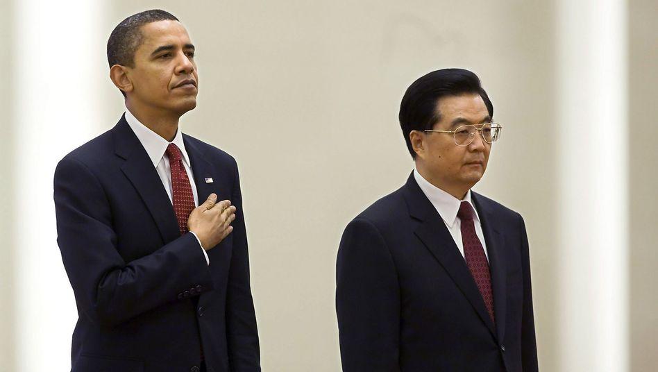 "US-Präsident Obama, Chinas Präsidenten Hu Jintao: ""Kein echter Sinneswandel"""