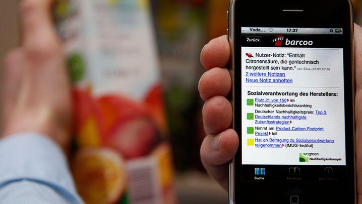 Startup barcoo: Nachhaltigkeit via Handy