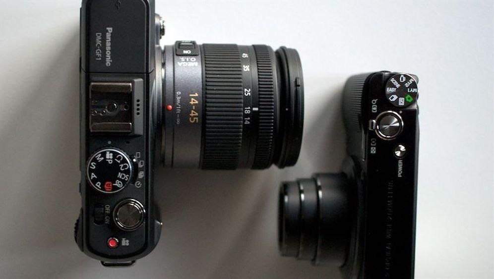 Schein-Spiegelreflex: So fotografiert die Lumix GF1