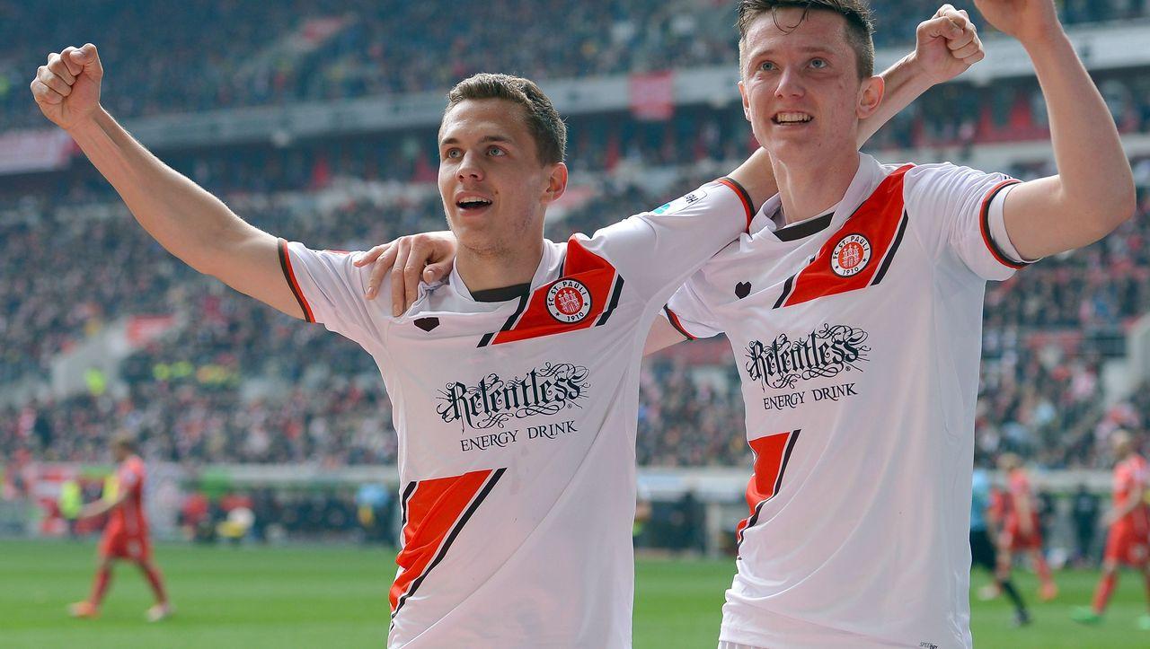 2 fußballbundesliga st pauli gewinnt in düsseldorf