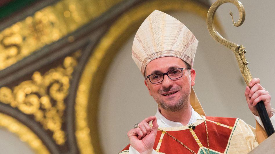 Erzbischof Stefan Heße im Hamburger Sankt Marien-Dom (Archivbild)