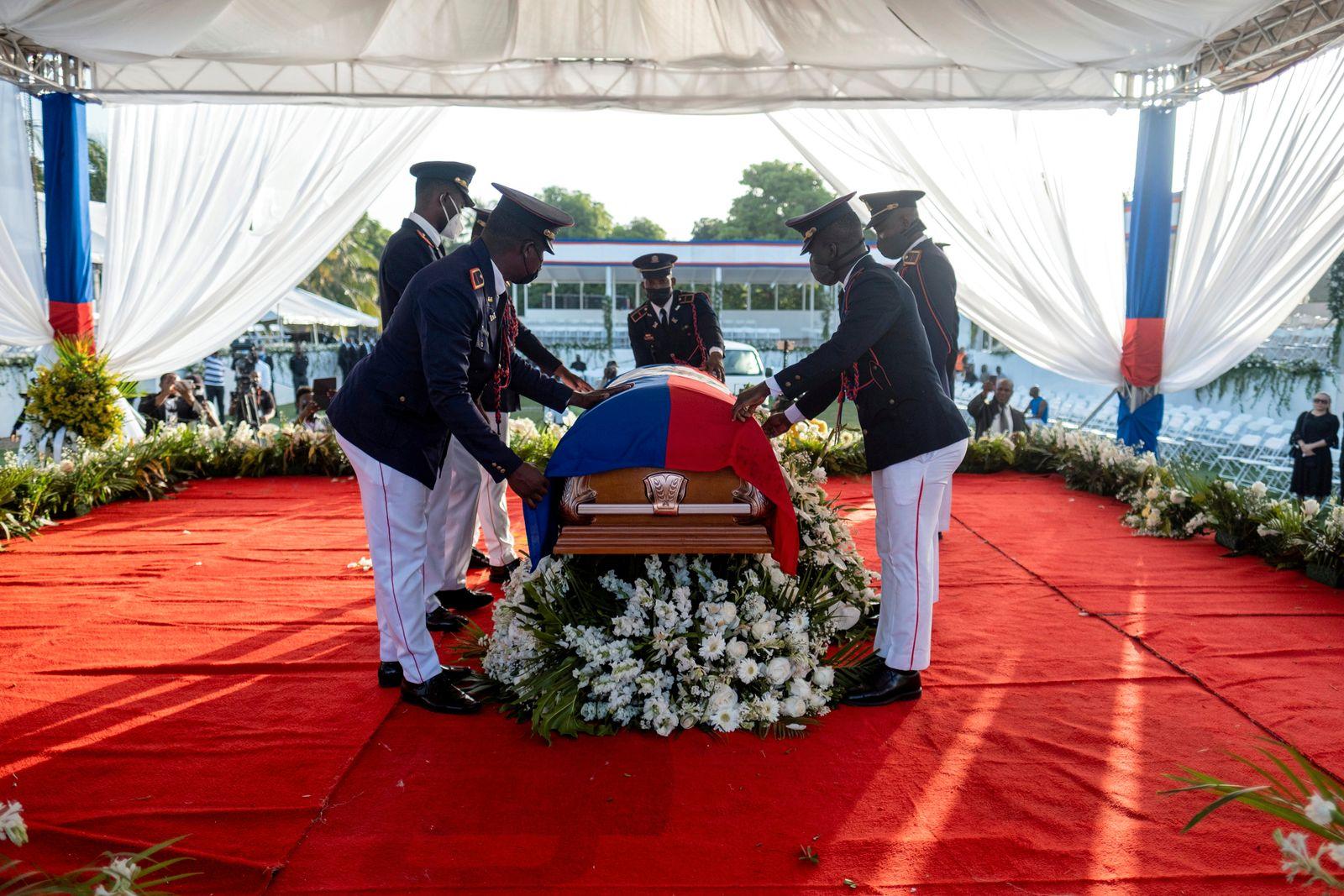 FILE PHOTO: Haiti holds funeral for assassinated President Jovenel Moise in Cap-Haitien