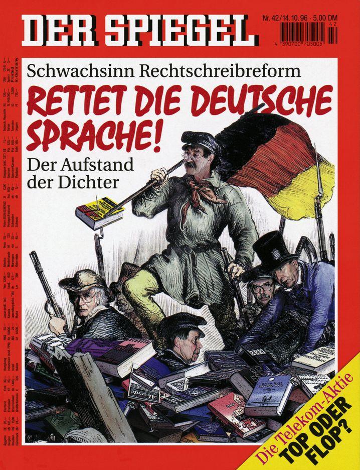 "SPIEGEL-Titel im Oktober 1996: ""Zwangsneurotische Bürokratenlösung"""