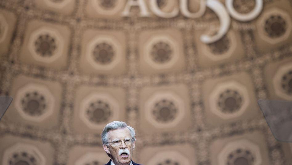 Kommender US-Sicherheitsberater Bolton (Archivbild 2014)