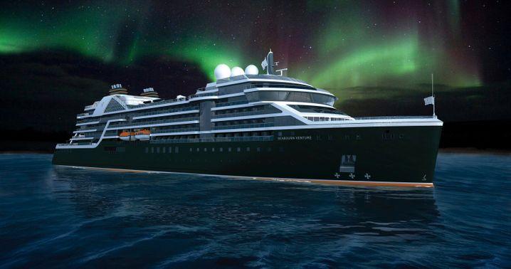 »Seabourn Venture« von Seabourn Cruise Line: Mni-U-Boote an Bord