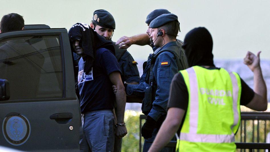 """Polizeiaktion im Norden Spaniens: Mitglieder des """"Kommando Imanol"""" festgenommen"""