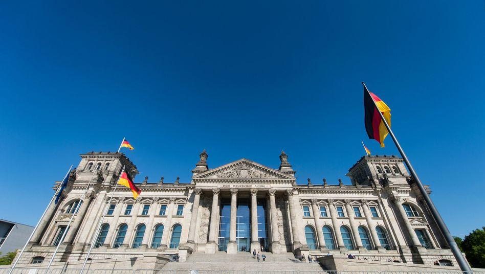 Bundestag: Bundesanwaltschaft greift ein