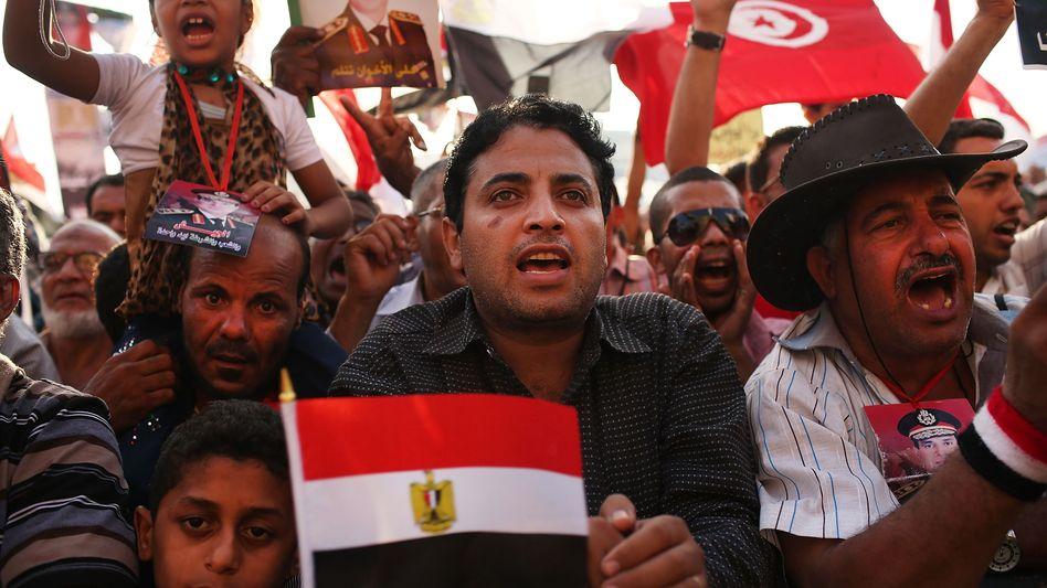 Demonstration auf dem Tahrir-Platz: Wende im Machtkampf