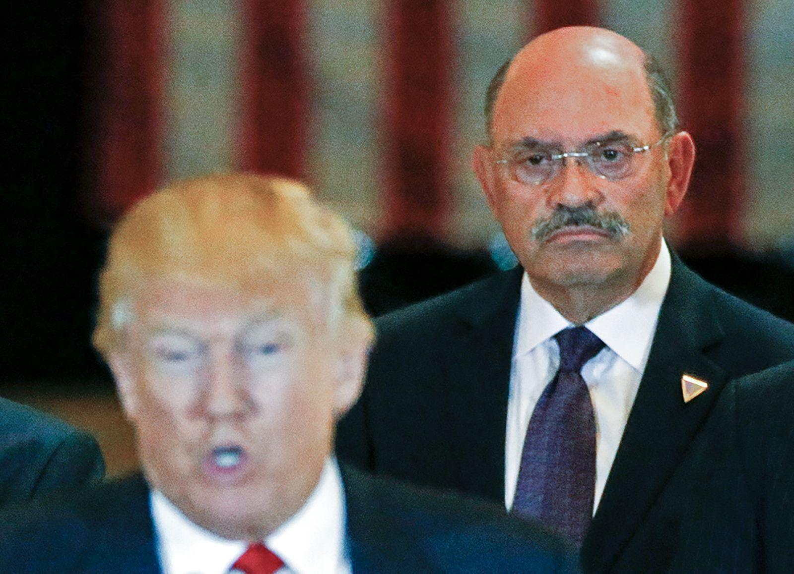 Trump Organization chief financial officer Allen Weisselberg