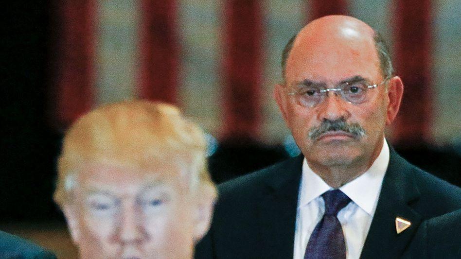 Donald Trump, Allen Weisselberg (2016): Seit vielen Jahren im Trump-Konzern tätig