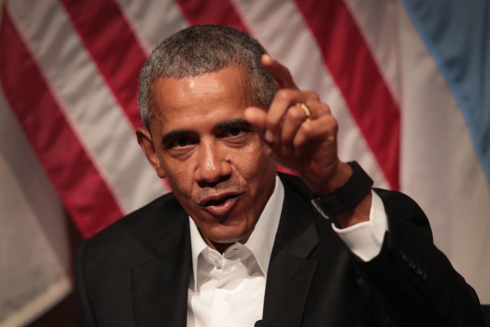 US-FORMER-PRESIDENT-OBAMA-SPEAKS-ON-CIVIC-ENGAGEMENT-AT-THE-UNIV