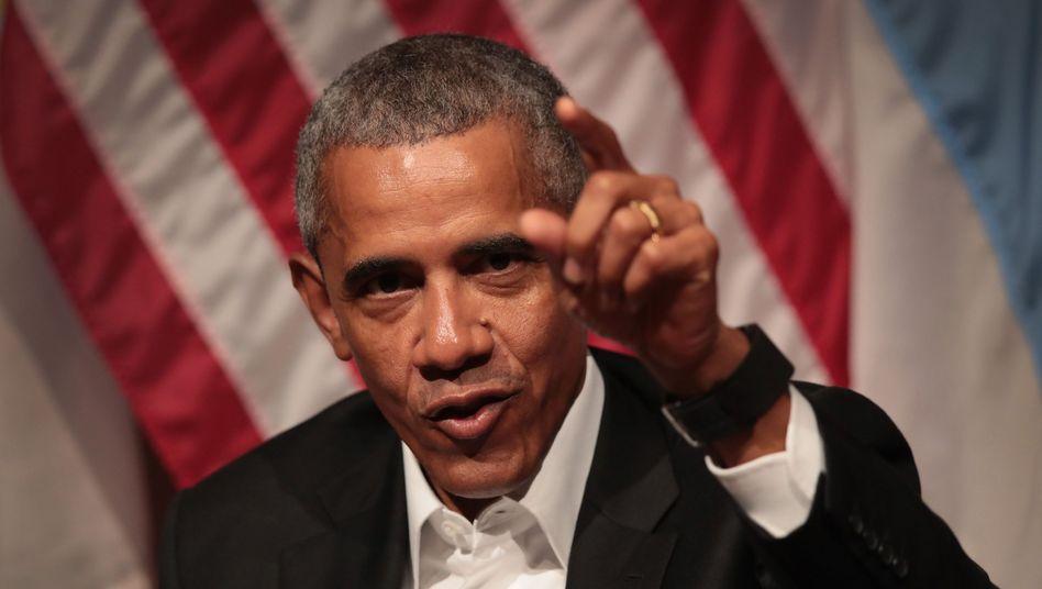 Ehemaliger US-Präsident Barack Obama