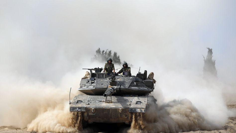 Israelische Soldaten: Neue Eskalation in Nahost