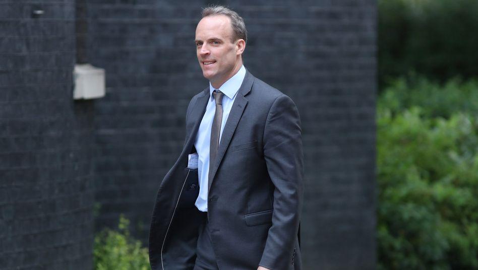 """Britischer Außenminister Dominic Raab: »Wir haben auch unsere Flexibilität gezeigt"""""""