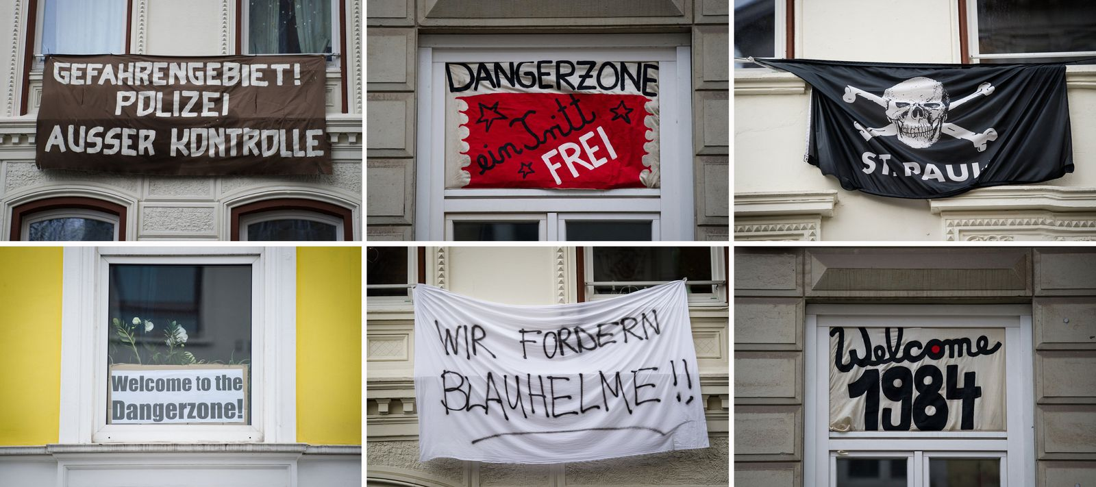 Hamburg / Gefahrengebiet