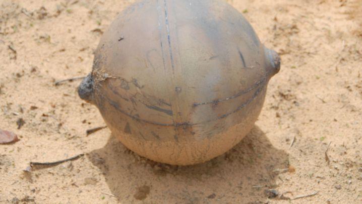 Weltraumschrott: Kugel fällt auf Namibia