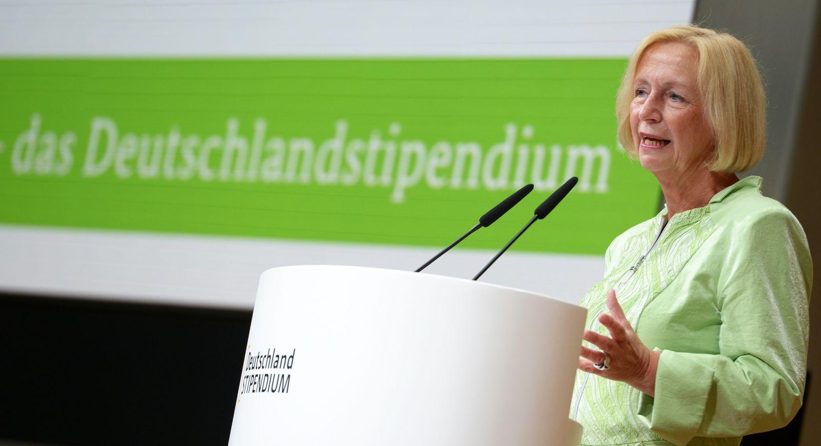 Deutschlandstipendium / Johanna Wanka