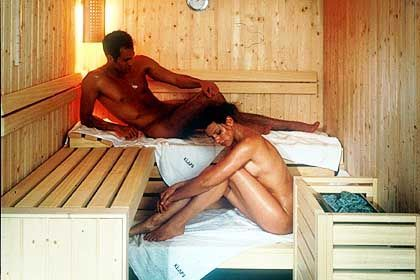 Verstand ausgeschalten, Sauna eingeschalten!