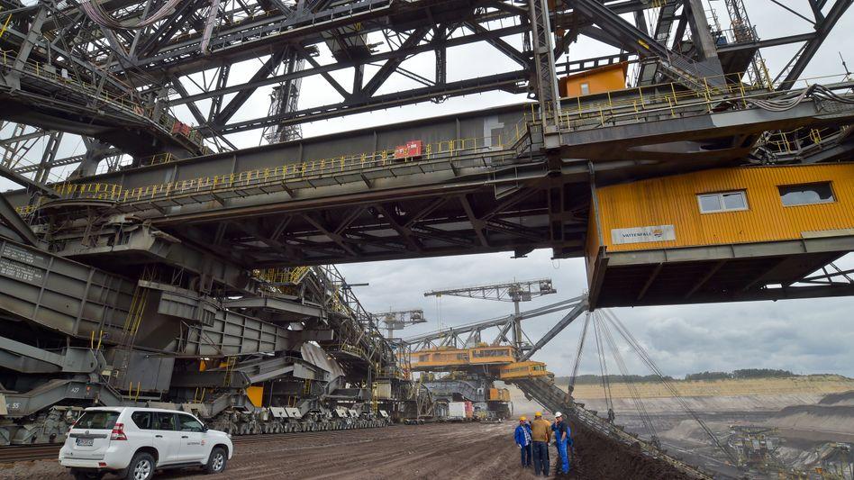 Tagebau von Vattenfall in Welzow-Süd: 30.000 Arbeitsplätze in der Region