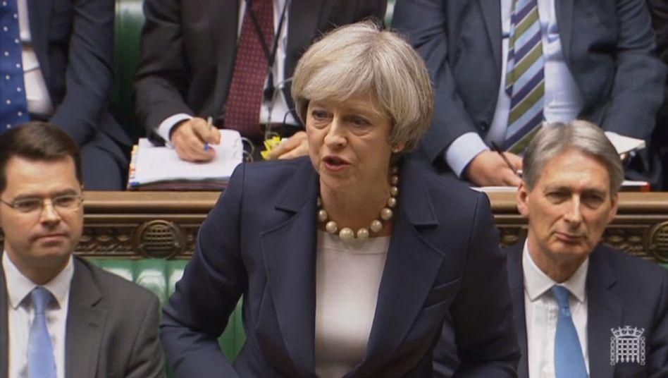 Theresa May vor dem Unterhaus (Archiv)