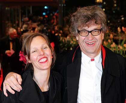 Regisseur Wim Wenders mit Ehefrau Donata: Man spricht Deutsch