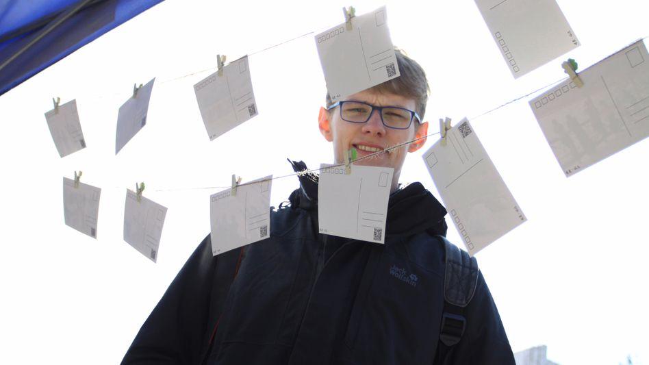 Journalismus-Student David Missal