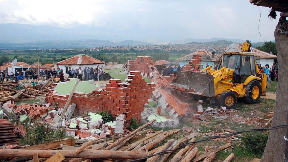Roma in Bulgarien: Bulldozer gegen Hütten