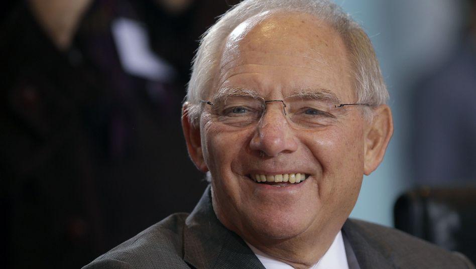 Haushaltspläne bestätigt: Finanzminister Wolfgang Schäuble
