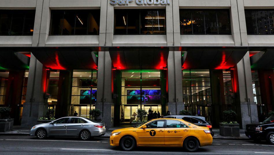 S&P-Global-Zentrale in New York (2018): Zweitgrößte Übernahme des Jahres