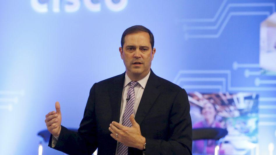 """Cisco-Chef Chuck Robbins: """"Wir geben keine Quellcodes heraus"""""""