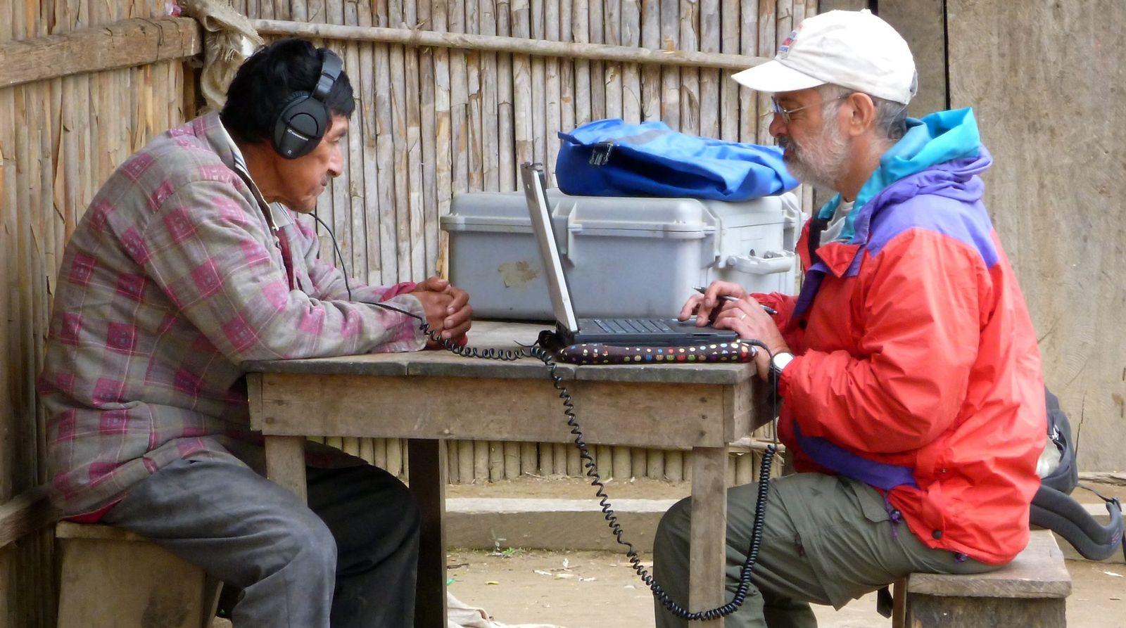 EINMALIGE VERWENDUNG Musik-Studien am Amazonas