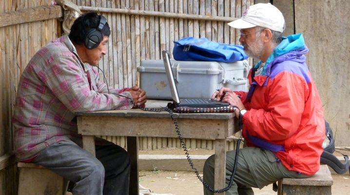 Experiment im bolivianischen Regenwald