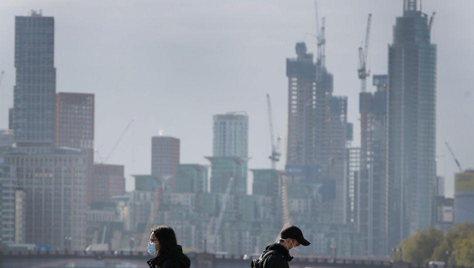 """London: """"Das Wachstum ist bedeutend schwächer als erwartet"""""""