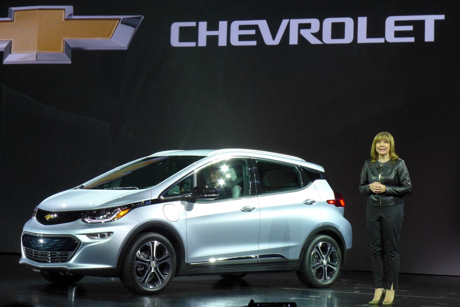 Chevrolet Bolt / Elektroauto / CES 2016 / Mary Barra
