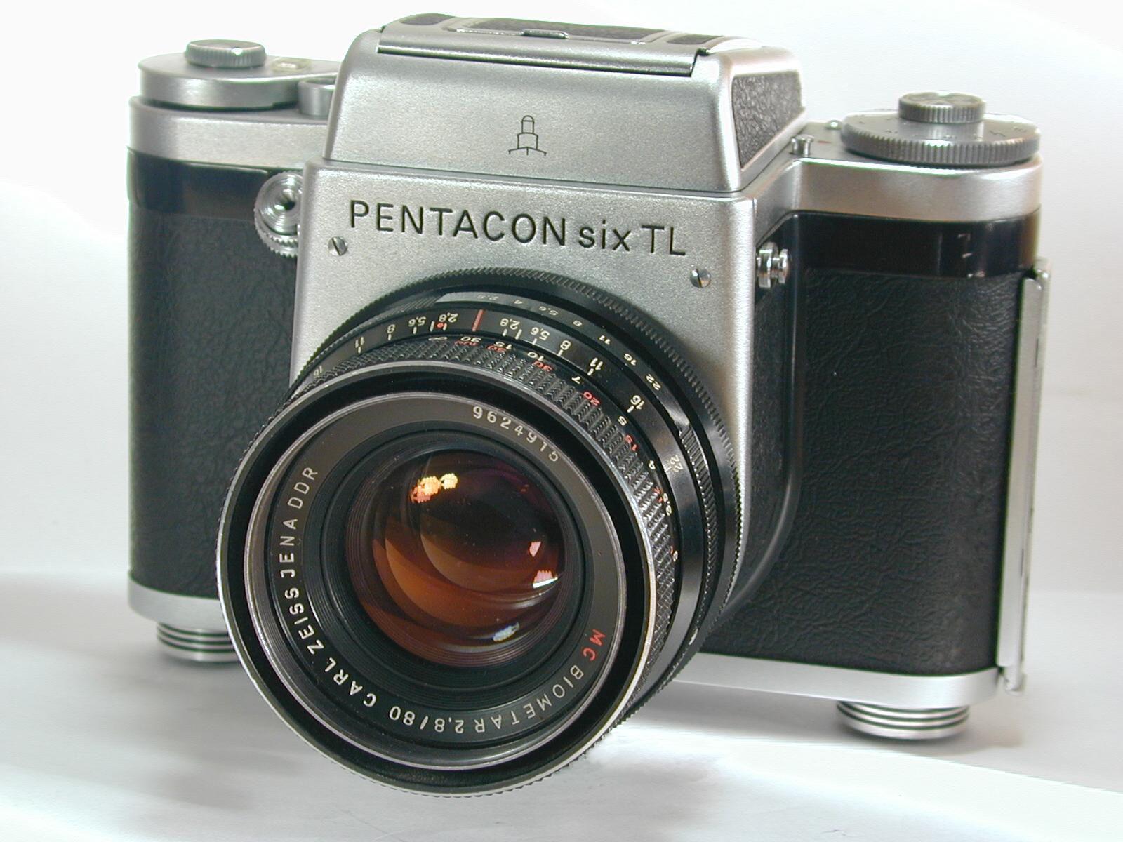 EINMALIGE VERWENDUNG Kameraoldies / Pentacon six