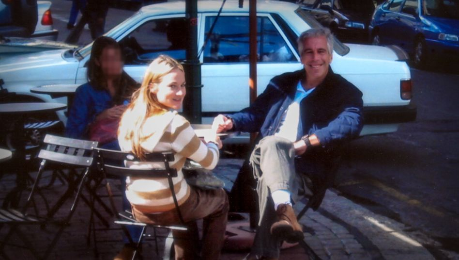 Keine harmlose Straßenszene: Epstein und Chauntae Davies, eines seiner Opfer