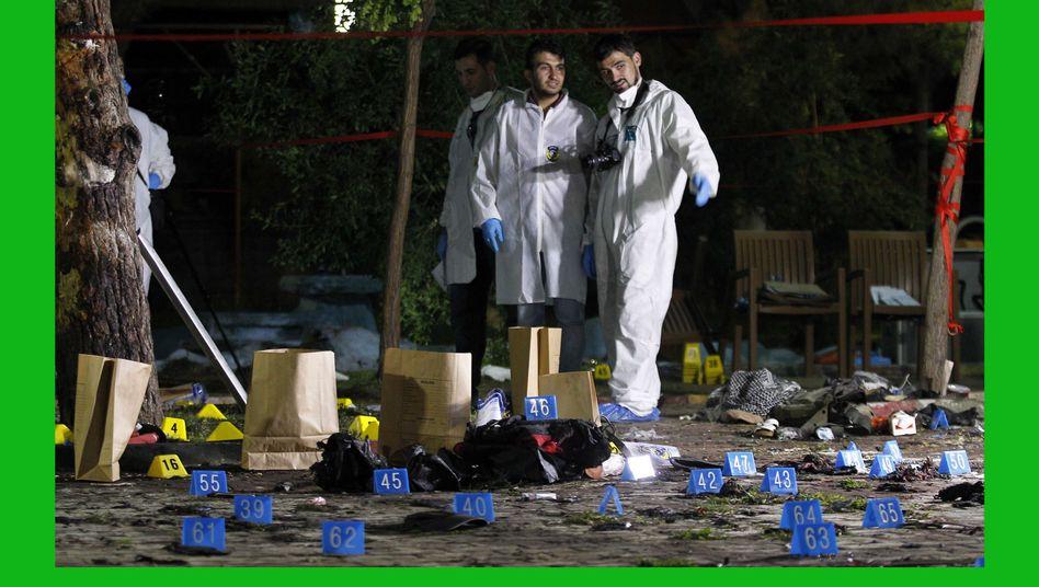 Forensiker in Suruc: Vizepremier Arinc greift die Opposition an