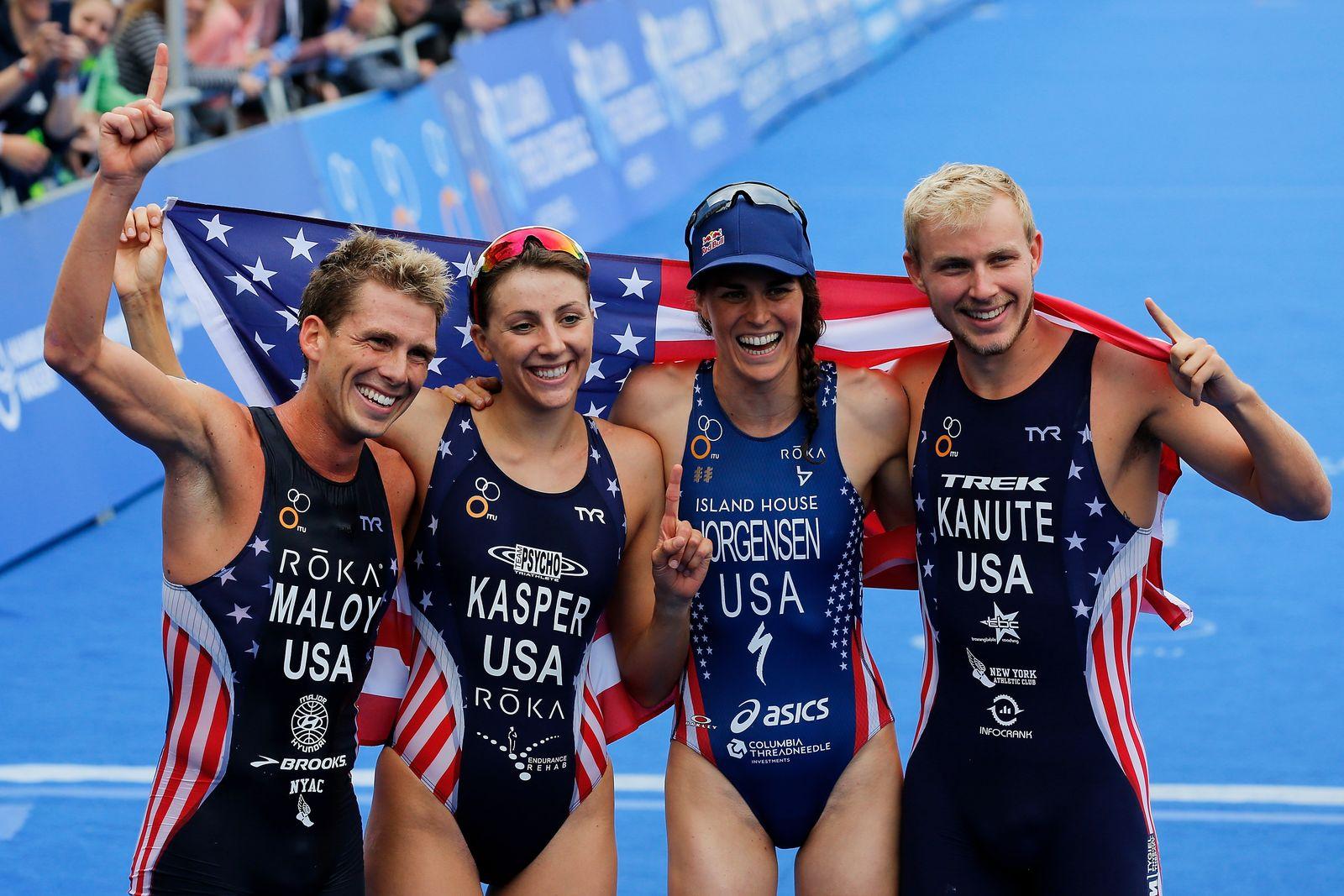 Mixed Team Triathlon