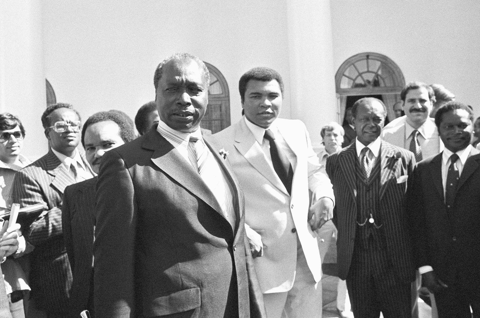 Muhammad Ali and Daniel Arap Moi