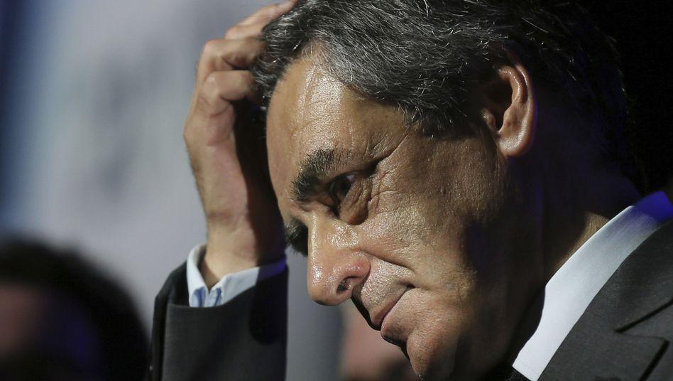 Der französische Präsidentschaftskandidat François Fillon