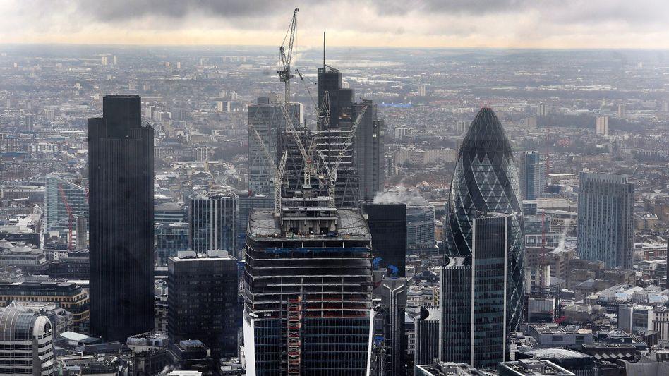 Londoner Skyline: Großbritannien ohne Top-Bonität