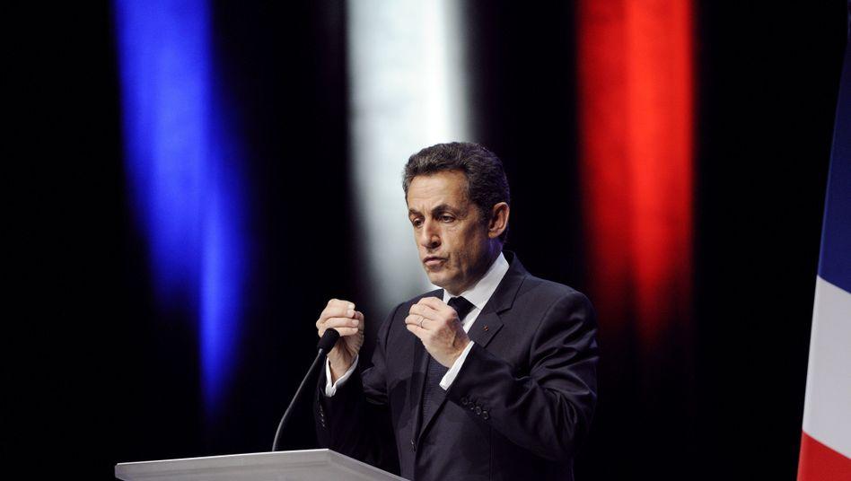 """Frankreichs Präsident Sarkozy in Toulon: """"Europa muss sich schnell ändern"""""""