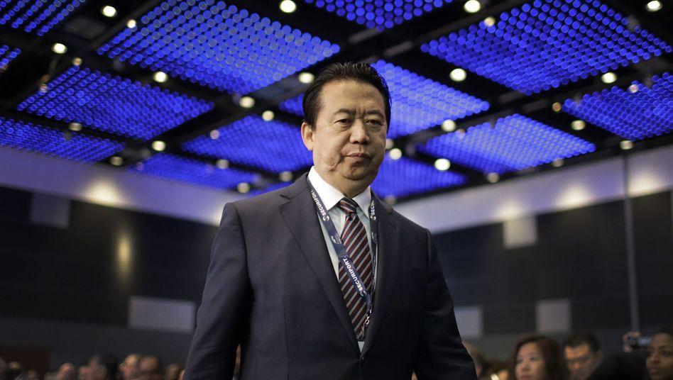 Meng Hongwei, Interpol-Präsident unter Korruptionsverdacht