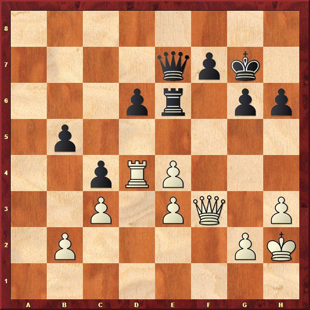 EINMALIGE VERWENDUNG Schach-WM 2013 / Analysen / Stellung 6.3