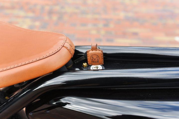 Zündschlüssel des Meijs Motormans